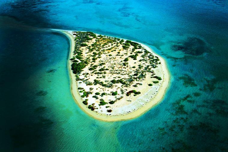 5 جزر أسطورية في السعودية